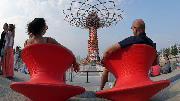 L'albero della vita di EXPO 2015 - Sputnik Italia