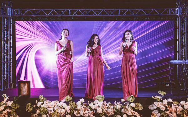 Un momento del concerto nella giornata nazionale del Kazakhstan il 27 giugno 2015 - Sputnik Italia