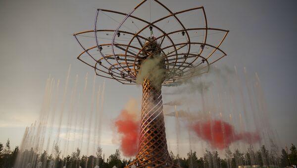 L'albero della vita all'EXPO di Milano - Sputnik Italia