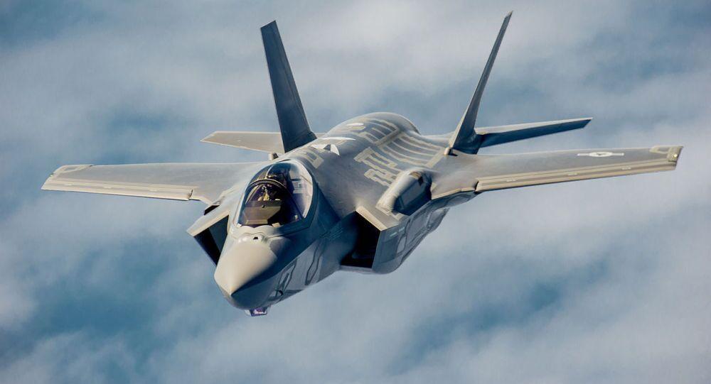 Caccia americano F-35 (foto d'archivio)