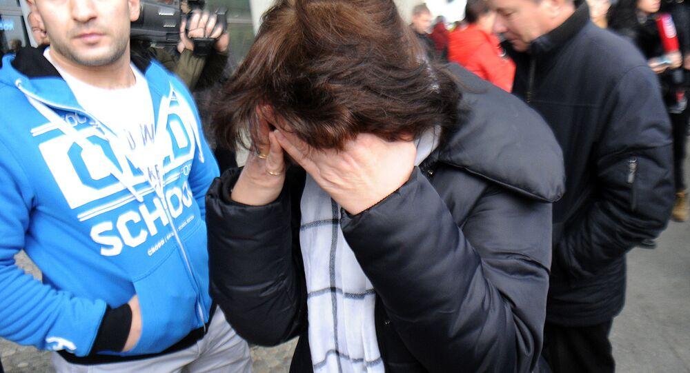 A San Pietroburgo disperazione dei parenti delle vittime della sciagura dell'Airbus in Egitto