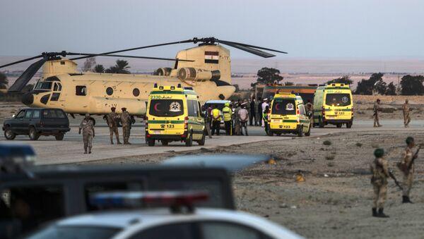 Ambulanze nel luogo del disastro dell'Airbus russo - Sputnik Italia