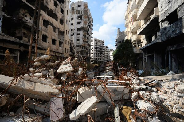 Azioni militari nei pressi di Homs. - Sputnik Italia