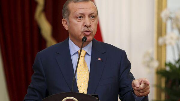 Il presidente della Turchia Recep Tayyip Erdogan - Sputnik Italia