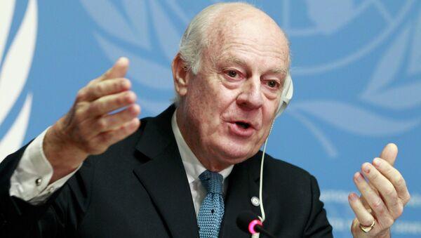 Staffan de Mistura, inviato delle Nazioni Unite per la Siria - Sputnik Italia