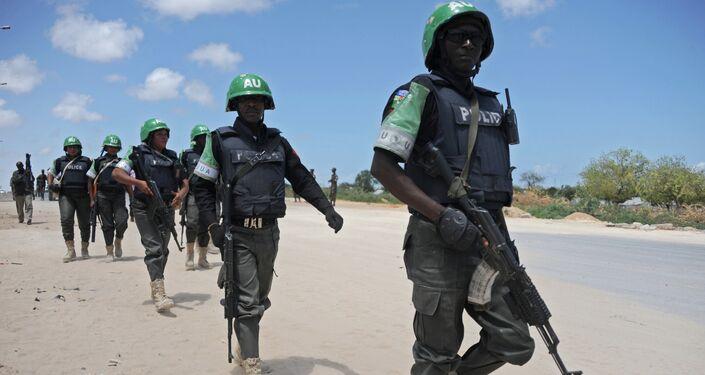 Soldati della Missione dell'Unione africana in Somalia