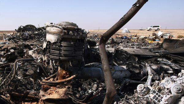 Airbus A321 luogo dello schianto in Egitto - Sputnik Italia