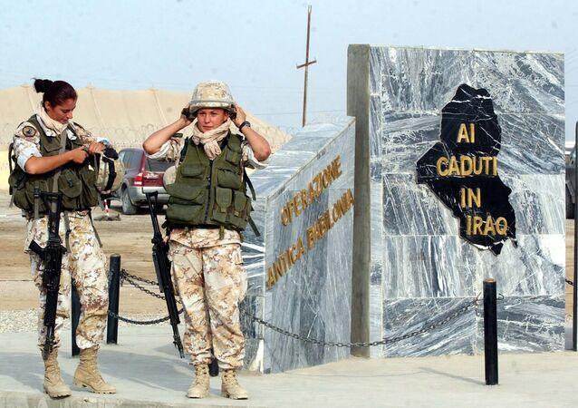 Soldatesse italiane in Iraq