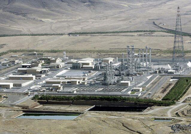 il reattore atomico della centrale iraniana in citta` di Arak.