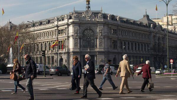Banca Centrale di Madrid - Sputnik Italia