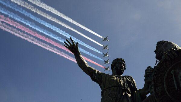 Il monumento a Minin e Pozharskiy a Mosca - Sputnik Italia