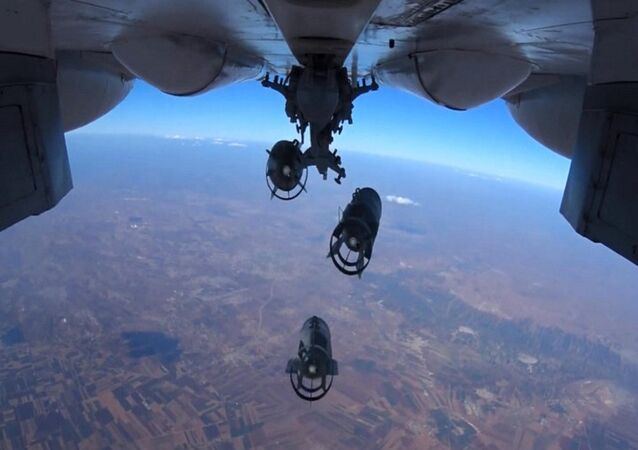 Russian Aerospace Forces conduct pinpoint air strikes on armored vehicles, fuel and lubrication materials storages
