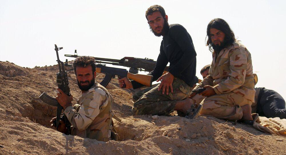 Ribelli dell'Esercito Libero Siriano (foto d'archivio)