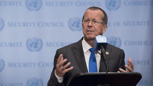 Martin Kobler, rappresentante del Segretario Generale dell'ONU per la Libia - Sputnik Italia