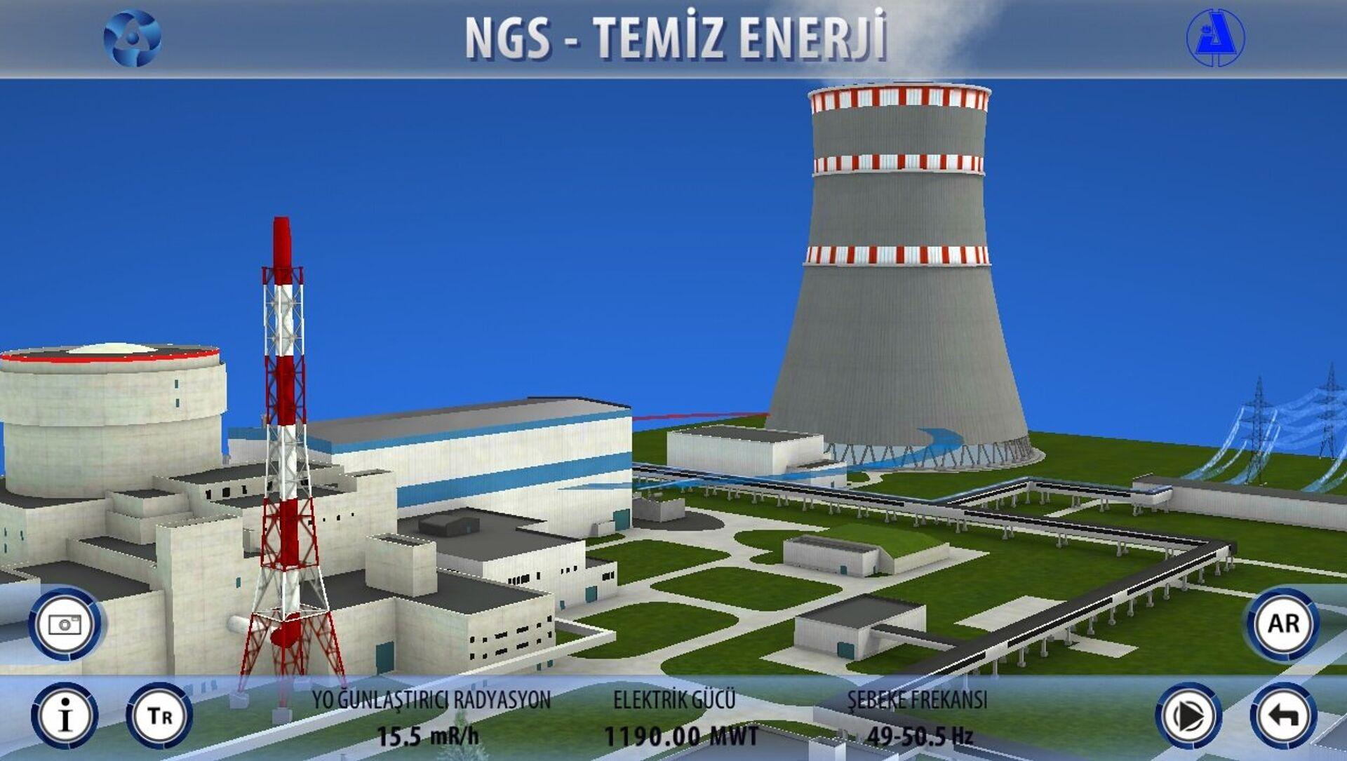 Centrale nucleare di Akkuyu - Sputnik Italia, 1920, 10.03.2021