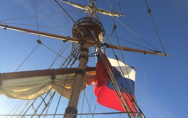 La fregata Shtandart di Pietro il Grande - Sputnik Italia