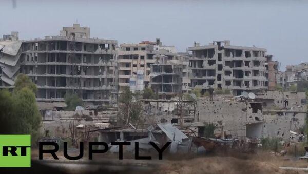 Scontro a fuoco tra militari e terroristi in Siria - Sputnik Italia