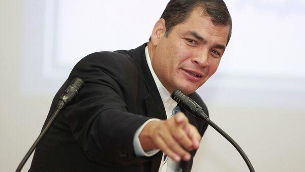 Rafael Correa, presidente dell'Ecuador - Sputnik Italia
