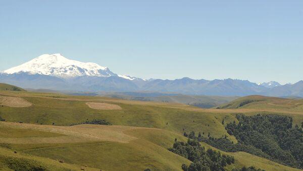 La vetta del monte Elbrus - Sputnik Italia