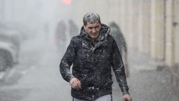 Nevicata di primavera a Mosca - Sputnik Italia