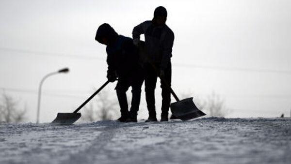 Spaliamo la neve! - Sputnik Italia