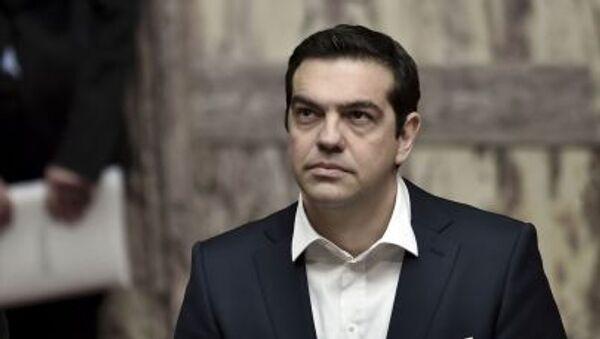 Primo misitstro greco Alexis Tsipras - Sputnik Italia