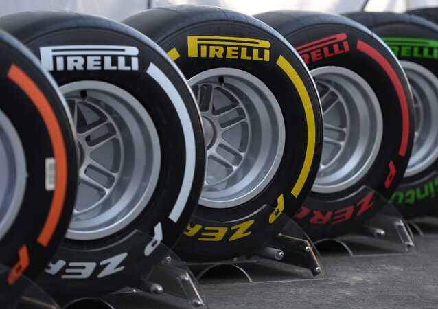 Pneumatici Pirelli al GP di Cina