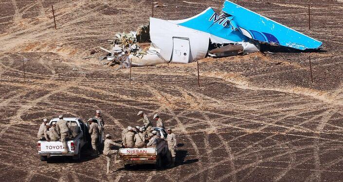 Airbus A321 crollato in Egitto