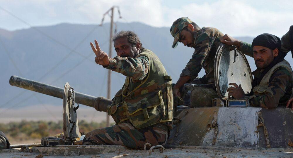 Esercito siriano (foto d'archivio)