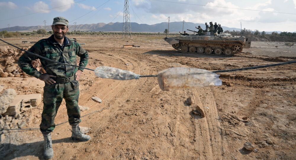 Esercito siriano a 20 km da Palmira