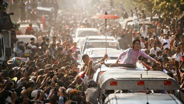 Il leader dell'opposizione birmana Aung San Suu Kyi - Sputnik Italia