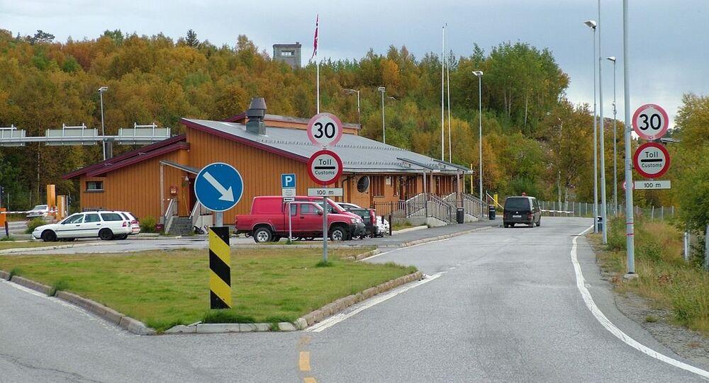 Valico di frontiera russo-norvegese di Storskog (foto d'archivio)