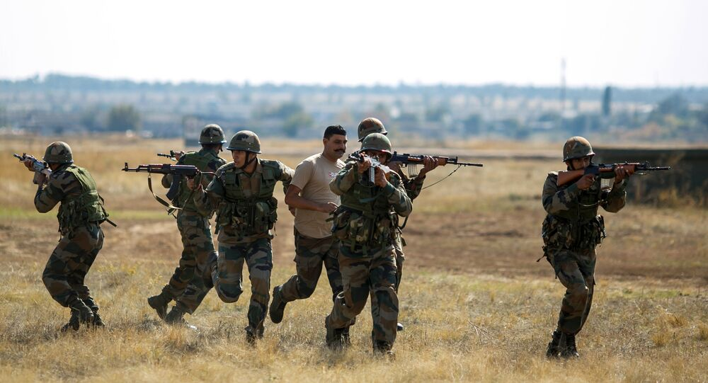 India-Russia Joint Army Exercise 'Indra'