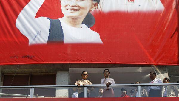 Aung San Suu Kyi, leader della Lega Nazionale per la Democrazia, Birmania - Sputnik Italia