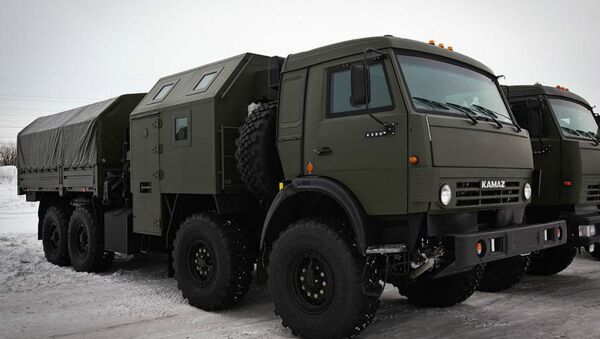 Camion russi KamAZ-63501 - Sputnik Italia