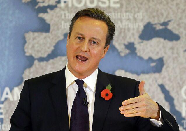 Il premier britannico David Cameron