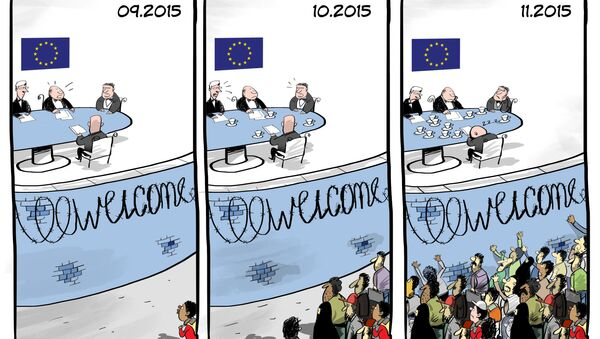 La crisi dei migranti in Europa - Sputnik Italia