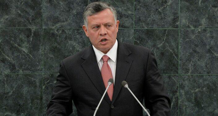 Il re di Giordania Abdullah II