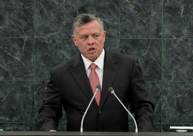 Il re della Giordania Abdullah II