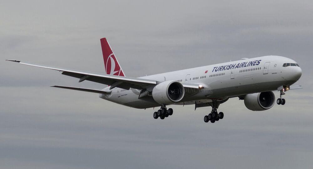 Aereo Turkish Airlines (foto d'archivio)