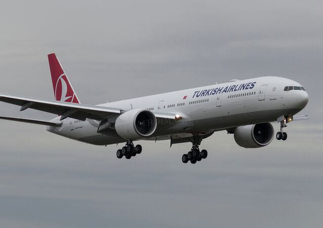 Aereo Turkish Airlines (foto d'archivio)