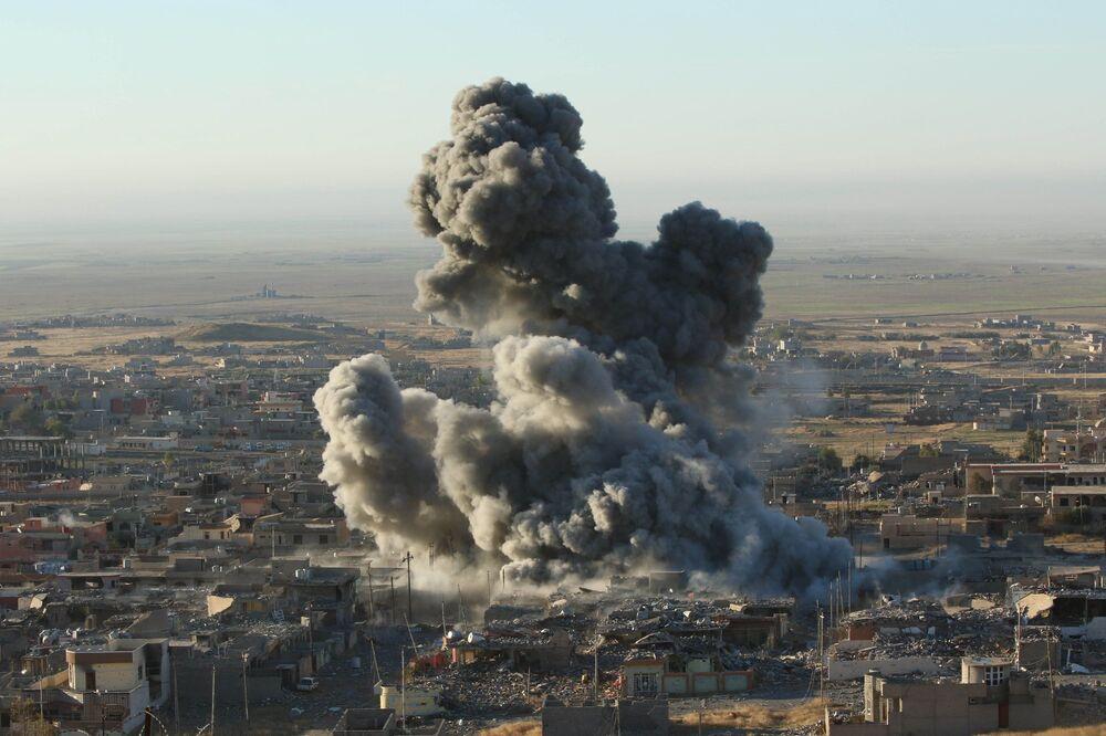 L'offensiva dei peshmerga curdi nel Nord dell'Iraq.