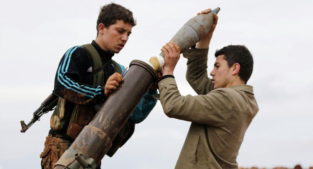 Ribelli islamisti siriani (foto d'archivio)