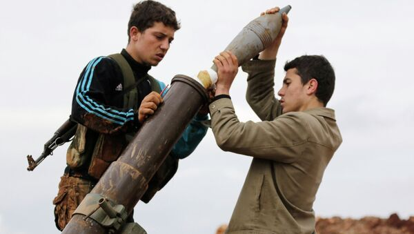 Combattenti del Fronte Al-Nusra in Siria - Sputnik Italia