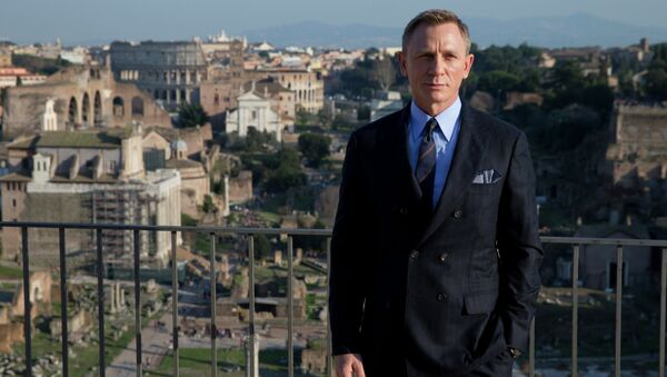 Daniel Craig - James Bond a Roma - Sputnik Italia