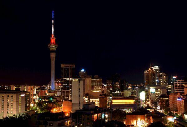 La Sky Tower di Auckland, in Nuova Zelanda. - Sputnik Italia