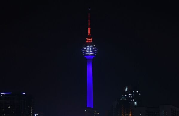 La Kuala Lumpur Tower in Malesia. - Sputnik Italia