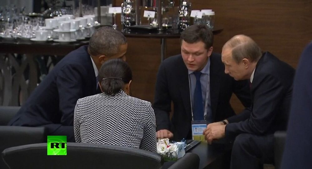 Putin & Obama hold talks on G20 sidelines
