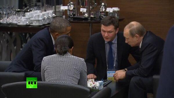 Putin & Obama hold talks on G20 sidelines - Sputnik Italia