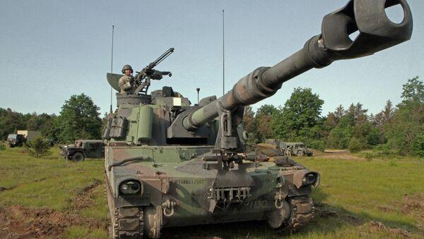 Obice d'artiglieria USA Paladin M109A6 - Sputnik Italia